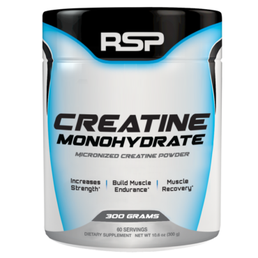RSP Nutrition Creatine Monohydrate, Unflavoured 0.66 lb