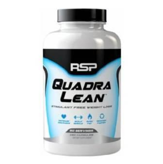 RSP Nutrition Quadra Lean, 150 capsules Unflavoured