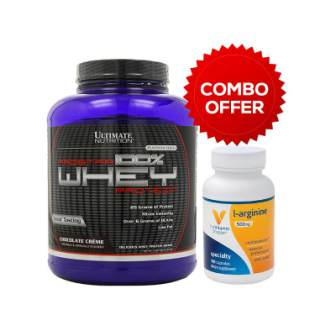 The-Vitamin-Shoppe-L-Arginine-500-mg-100-capsules-Prostar-100-Whey-Protein-5.28-LBS