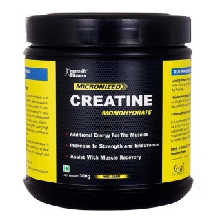 Healthvit Micronized Creatine Powder,z Unflavoured 0.66 lb