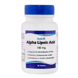 Healthvit Alpha Lipoic Acid (100 mg), 60 tablet(s)