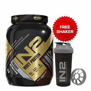 N2 Mass Gainer Rich Chocolate 1.2 kgs (2.64lbs) Free Shaker