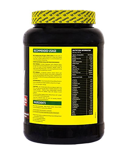 Healthvit-100-Ultra-Premium-Whey-Protein-2.2 nutritional facts