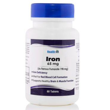 Healthvit-Iron-Ferrous-Sulphate-65-mg-60-tablets