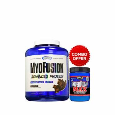 Gaspari Myofusion Advanced Protien + Super Pump Maxx Fruit Punch
