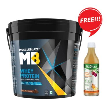 MB whey 4kg + ACV