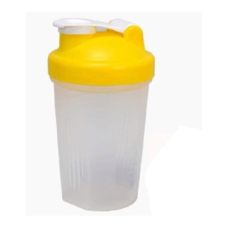 GHC Shaker Bottle, Yellow 400 ml