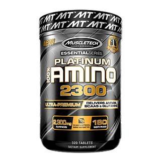 Muscletech Essential 100% Amino 2300 (320 Caps)