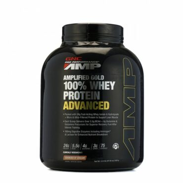 GNC PP 100% Whey Protein Amp Gold Advance 5.12lb