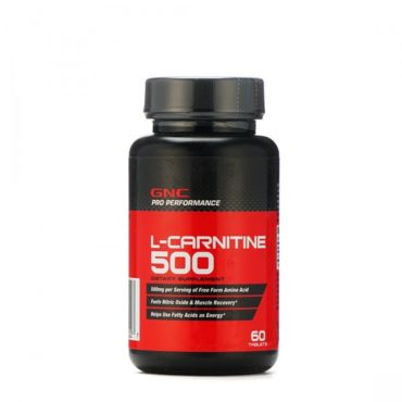GNC Pro Performance L-Carnitine 500MG 60 Tablets