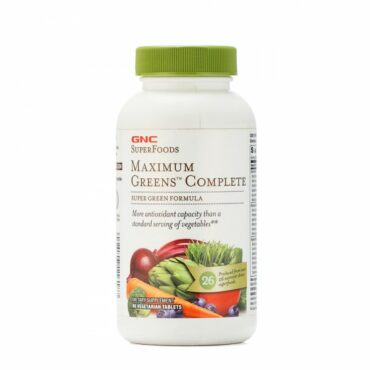 GNC Maximum Green Complete 90 Tablets