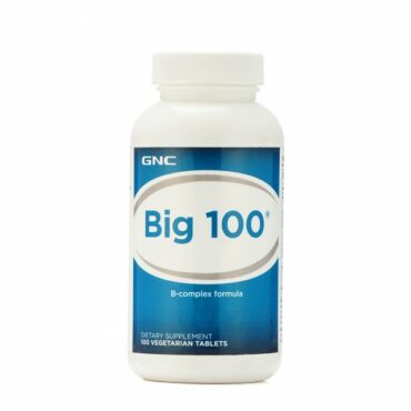 GNC-Big-100-B-Complex-Formula-100-Tablets