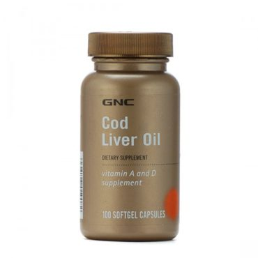 GNC-Cod-Liver-Oil-Vitamin-A-D-100-Softgel-Capsules