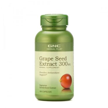 GNC-Grape-Seed-Extract-300Mg-Provides-Antioxidant-Support-100-Capsules