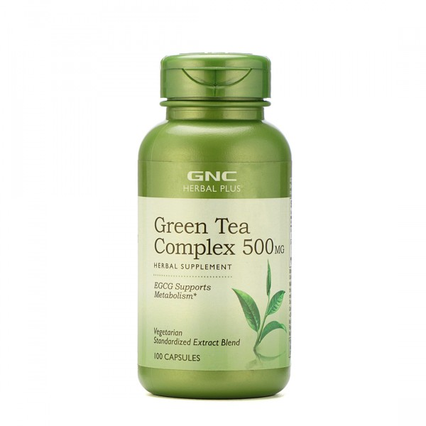 GNC Green Tea Complex for Metabolism 100 Capsules