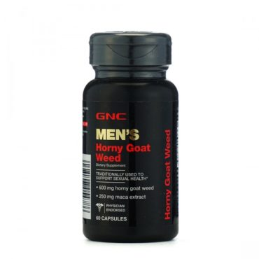 GNC-Mens-Horny-Goat-Weed-Traditionally-Used-to-Support-Sexual-Health-60-Capsules