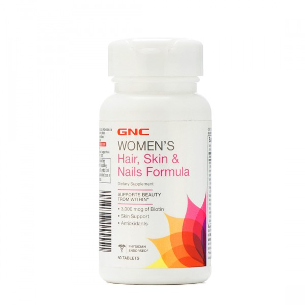 GNC-Womens-Hair-Skin-and-Nails-Health-Supplements-60-Tablets