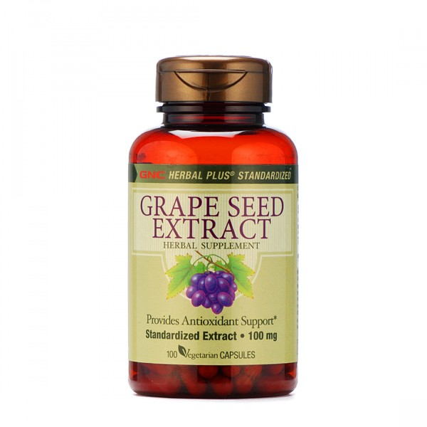 GNC Grape Seed Extract 100MG 100 Capsules