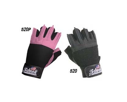 Schiek-Women's-Gel-Lifting-Gloves-520