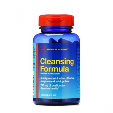 GNC Cleansing Formula for Digestive Health 120 Capsules
