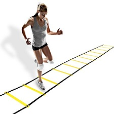 Image of fitness ladder workout