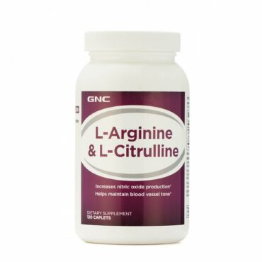 GNC L Arginine And Citrulline (120 Caplets)