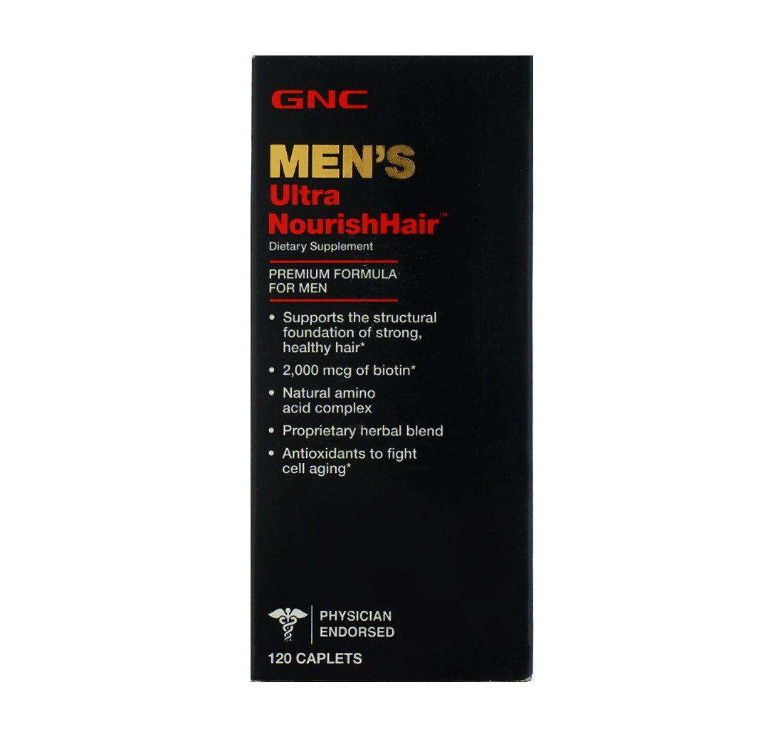 GNC Men's Ultra Nourish Hair 120 Caplets