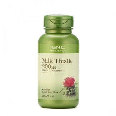GNC Milk Thistle HP 200MG 90 Capsules