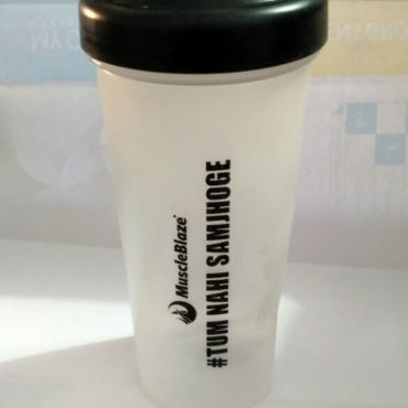 MuscleBlaze 650ml Protein Shaker