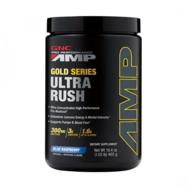 GNC PP AMP Gold Series Ultra Rush Powder 465gm