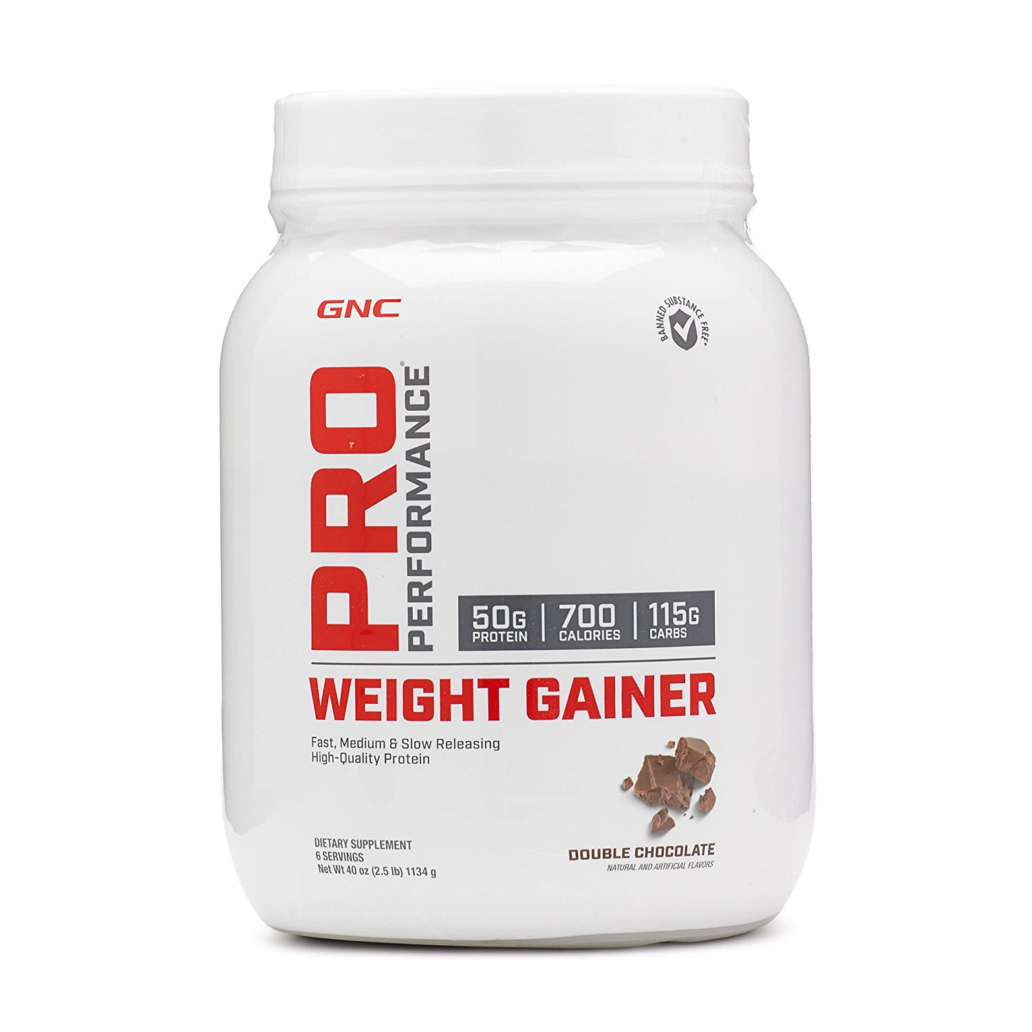 GNC Mass Gainer Complex Powder Chocolate 2.5 Lbs