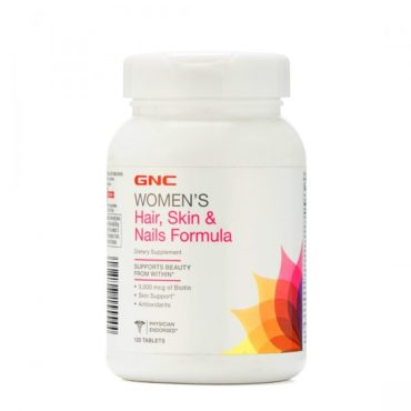 GNC Women's Hair Skin and Nails Health Supplements 120 Tablets