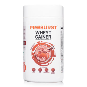 Proburst Wheyt Gainer Weight Gainer – 500 g
