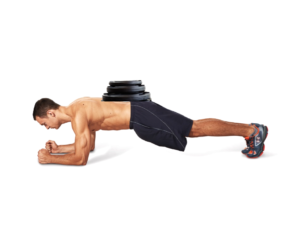 Weighted Plank Workout