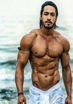 thakur anoop singh flaunting his bare body