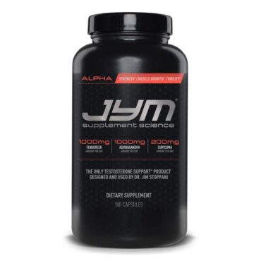 JYM Pro Supplement Science Alpha 180 Capsules