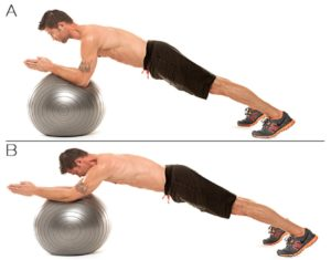 Medicine Ball Rollout Workout