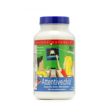 GNC Attentive Child 60 Chewable Wafers