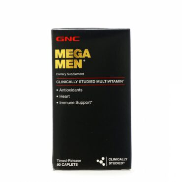 GNC Men's Mega Men For Heart & Immune Support (90 Caplets)