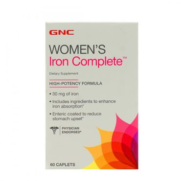 GNC Women's Iron Complete 60 Tablets