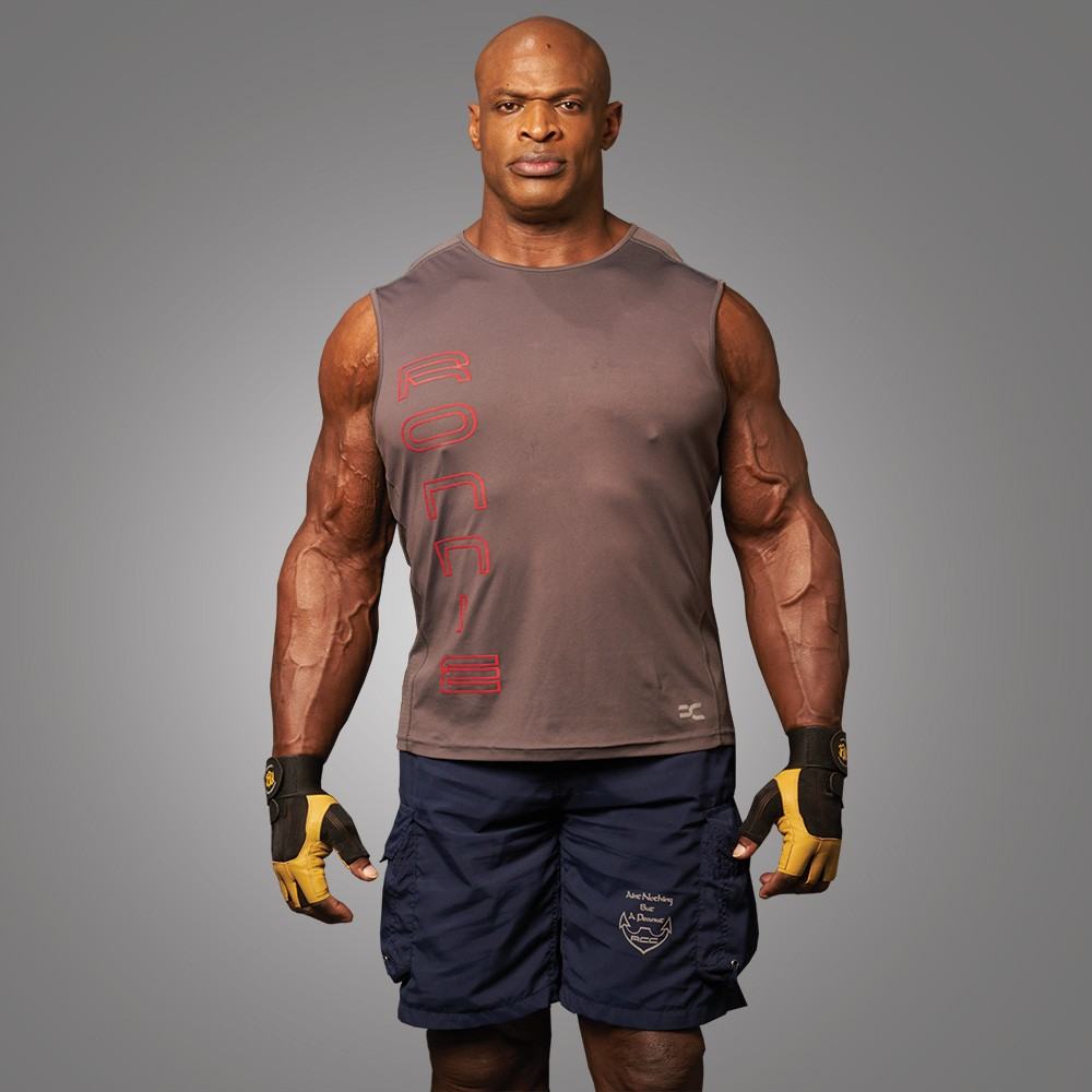 Ronnie Coleman (Rocclo) Men's T-shirt Elephant Grey 5055