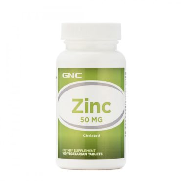 GNC Zinc 50Mg 100 Tablets