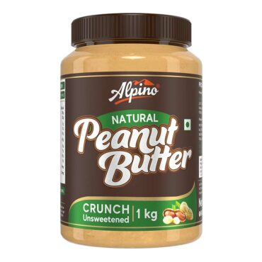 Alpino Natural Peanut Butter 1 KG