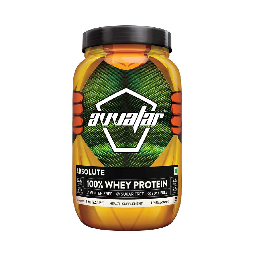 Avvatar Raw Whey Protein 2.2 lbs Unflavored