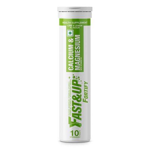 Fast&Up Fortify - Tube of 10 Tabs - Lime and Lemon Flavour