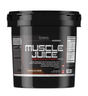 Ultimate Nutrition Muscle Juice Revolution 2600, 11 lb- chocolate