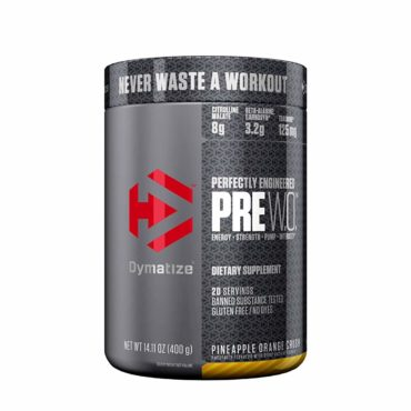 Dymatize-Pre-Workout-Supplement-400-Gram-Pineapple-Orange-Crush