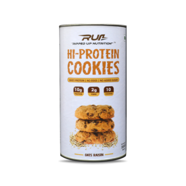 Ripped Up Nutrition Hi-Protein 10 Cookies