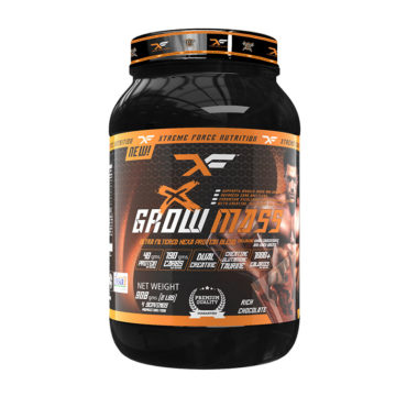 XFN Grow X Mass Massive Weight Gainer 2 Lbs - Rich Chocolate