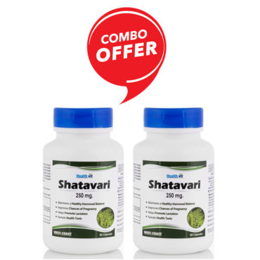 HealthVit-Shatavari-Powder-250-mg-60-Capsules-Pack-Of-22